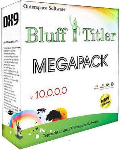 BluffTitler DX9 iTV v 10.0.0.0 MegaPack
