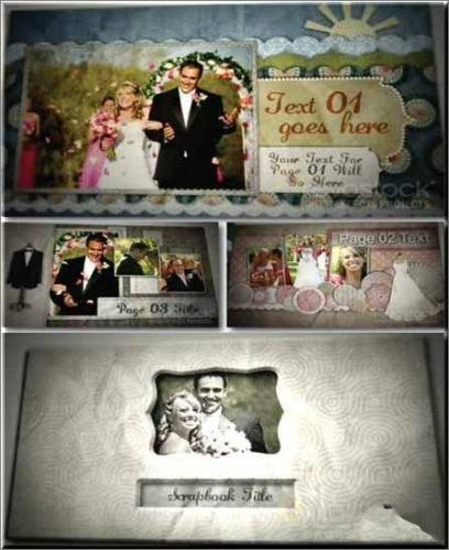 Wedding Scrapbook «Свадебный альбом» — After Effects Projects