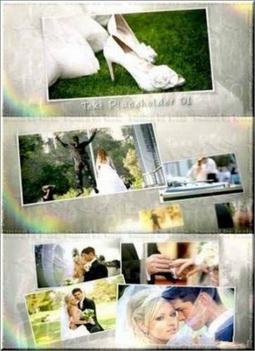 Wedding Moment Свадебный момент — After Effects Templates