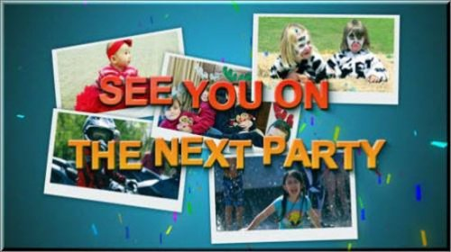 Kids Party-Full HD After Effects Project