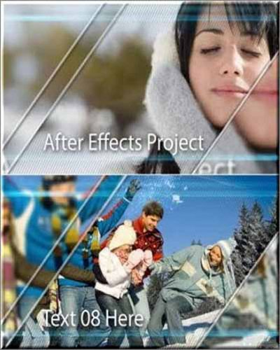 After Effects Project Sweet Memories