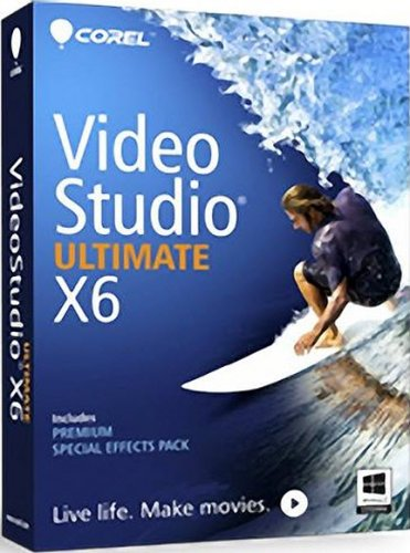 Corel VideoStudio Ultimate X6 16.0.0.106 + Bonus (2013/ENG)
