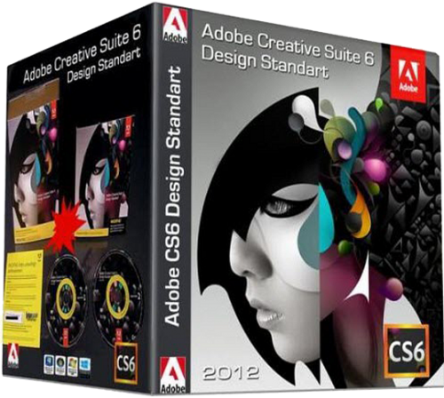 Скачать Adobe Creative Suite 6 Design Standard (2012/ML/RUS)