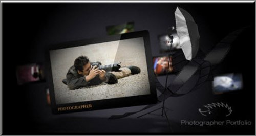 Videohive Photographer Portfolio - After Effects Project