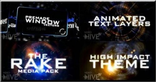 VideoHive - The Rake Media Pack (After Effects Project+)