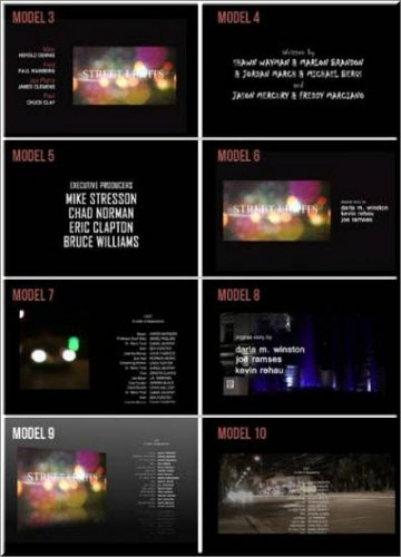 Videohive 10 Film Credits - After Effects Project