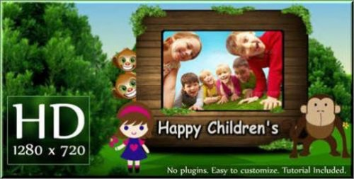 Happy Children's (VideoHive) «Счастливые дети» — After Effects Project