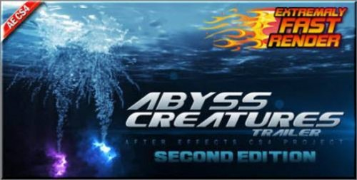 Abyss Creatures Trailer — After Effects Project(Videohive)