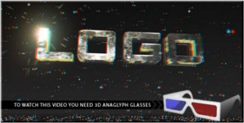 VideoHive Anaglyph Titles After Effects Project
