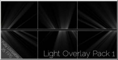 Videohive - Light Overlay Pack 1