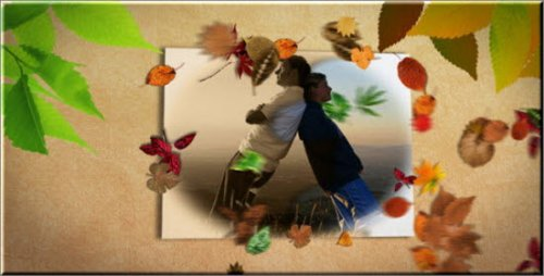 videohive slideshow golden autumn - After Effects Project
