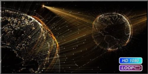 Cyber Earth Globe Hologram - Motion Graphics (Videohive)