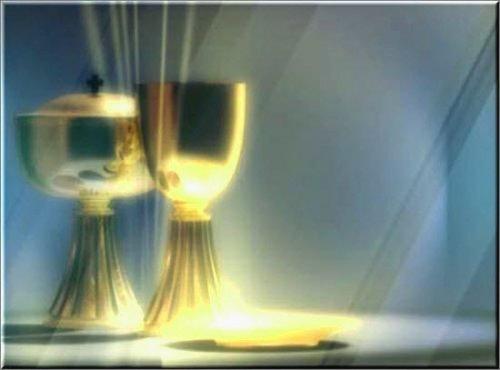 футаж видео заставка для Венчания или крещения