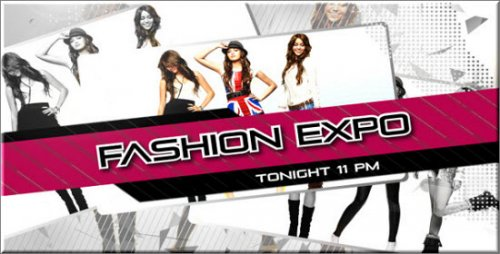 After Effects Project Fashion Expo