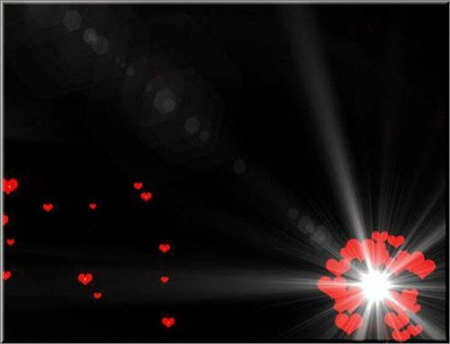 футаж - Hearts «Сердце»
