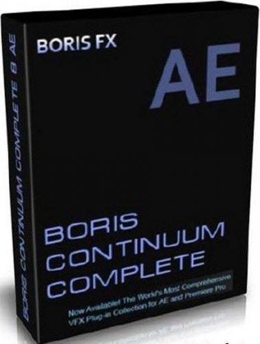 Boris Continuum Complete AE 8.0.3