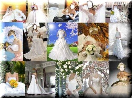 Костюмы Свадебные для Photoshop