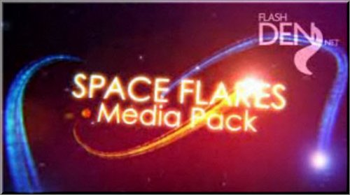 Space Flares Media Pack - Project for After Effects (Videohive)