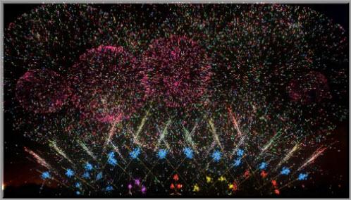 Illusion Fireworks Show HD (озвучены)