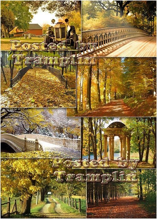 Фото – Autumn landscapes – Осенние пейзажи