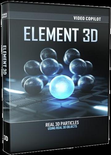 Video Copilot Element 3D 1.5.409 / The Ultimate 3D Bundle (2013/ENG)