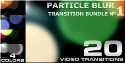 Particle Blur Transition - 1 (VideoHive)