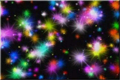 футаж - Красивый звездный фон