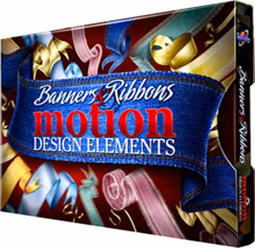 DJ Banners Ribbons Motion Design Elements «Баннеры и ленты» — After Effects Project