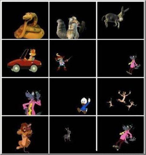 Знаменитые мультяшки из мультфильмов