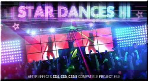Videohive After Effects Project - Star Dances III