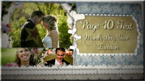 After Effects Project – Wedding Scrapbook
