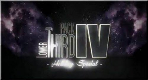 After Effects Project - Lower Third Pack Vol 4 HOLIDAY SPECIAL FullHD -VH