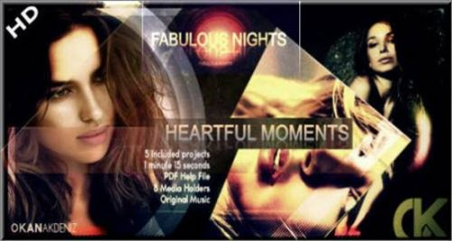 Videohive Fabulous Nights HD - After Effects Project