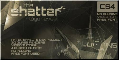 Videohive The Shatter After Effects project