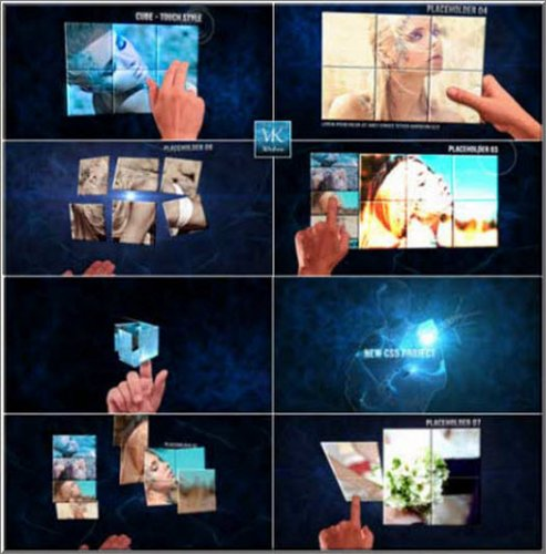 Videohive Cube Touch Style - After Effects Project