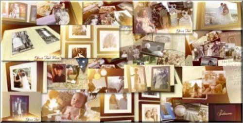 Videohive Family Photo Album Slideshow - After Effects Project