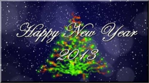 After Effects Project New Year