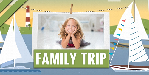 Family Trip - Project for After Effects (Videohive)