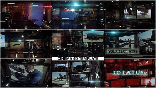 Rotatus 3 - Cinema 4D Template (Videohive)