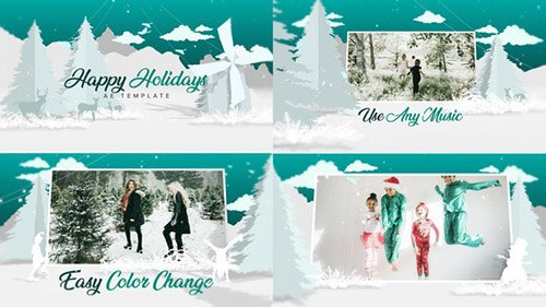 Christmas - White - Project for After Effects (Videohive)