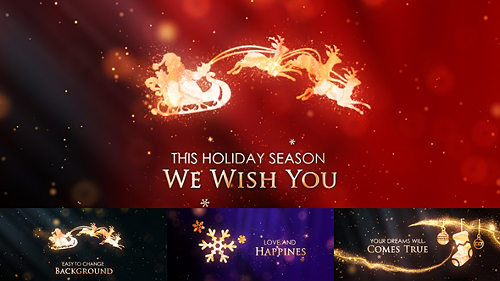 Christmas & New Year Holiday - Project for After Effects (Videohive)