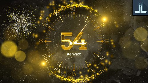New Year Countdown 2019 23056020 - Project for After Effects (Videohive)