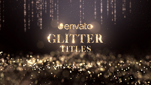 Glitter Titles - Project for After Effects (Videohive)