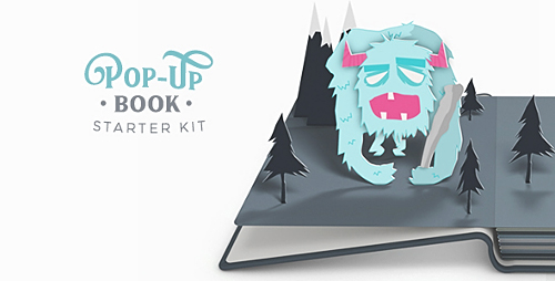 Pop-Up Book Starter Kit - Project for After Effects (Videohive)