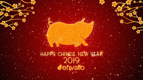 Chinese New Year Greetings 2019 - Project for After Effects (Videohive)