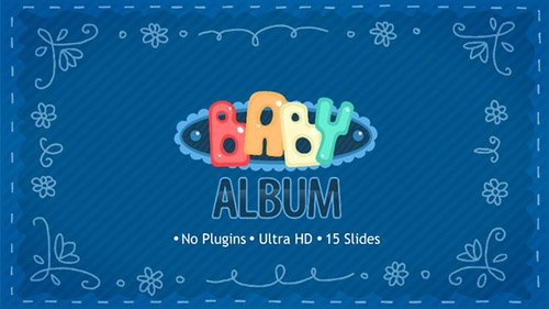 Baby Album 22689752 - Project for After Effects (Videohive)