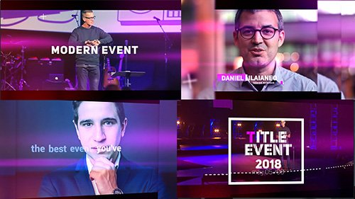 Modern Event 21226522 - Project for After Effects (Videohive)