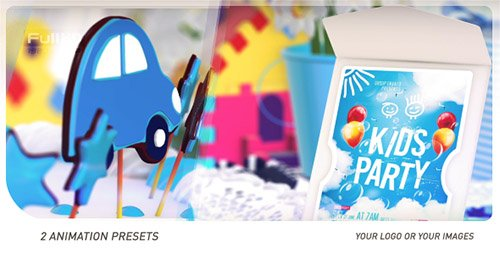 Kids Logo Opener - Project for After Effects (Videohive)