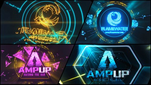 Abstract Dubstep Logo Reveal - Project for After Effects (Videohive)