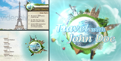 Travel Show Pack - Project for After Effects (Videohive)